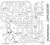 Help Little Bunny Find Path To...