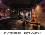 modern jazz bar interior design ... | Shutterstock . vector #1095203984