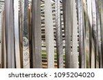 perforated aluminium sheet ... | Shutterstock . vector #1095204020