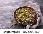 lentils with dried apricots ...