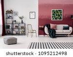spacious living room interior... | Shutterstock . vector #1095212498