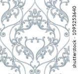 Baroque Texture Pattern Vector...