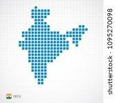 vector illustration of india...   Shutterstock .eps vector #1095270098