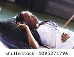 beautiful african girl in... | Shutterstock . vector #1095271796