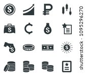black vector icon set japanese...
