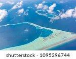 amazing bird eyes view in... | Shutterstock . vector #1095296744