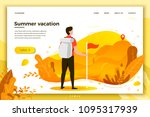 vector illustration   man... | Shutterstock .eps vector #1095317939