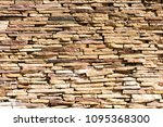 brown brick wall background ... | Shutterstock . vector #1095368300
