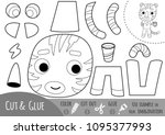 education paper game for... | Shutterstock .eps vector #1095377993
