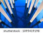 offshore construction platform...   Shutterstock . vector #1095419198