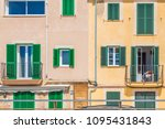 palma mallorca  spain   april... | Shutterstock . vector #1095431843