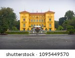 the presidential palace of... | Shutterstock . vector #1095449570