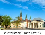 oldenburg  castle  church ... | Shutterstock . vector #1095459149