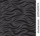 seamless wavy pattern. paper... | Shutterstock .eps vector #1095459974