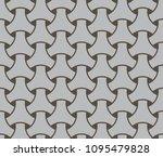japanese seamless wicker... | Shutterstock .eps vector #1095479828