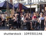 nijmegen  netherlands   april... | Shutterstock . vector #1095501146