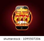online gambling concept... | Shutterstock .eps vector #1095507206