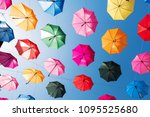 huge amount of colorful... | Shutterstock . vector #1095525680