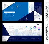brochure template design.... | Shutterstock .eps vector #1095528440