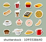 vector illustration of fast... | Shutterstock .eps vector #1095538640