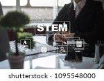 stem. science technology... | Shutterstock . vector #1095548000