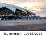 samara  russia   may 16  2018 ...   Shutterstock . vector #1095572318