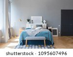 elegant fashionable interior of ...   Shutterstock . vector #1095607496