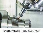 milling metalworking process.... | Shutterstock . vector #1095620750