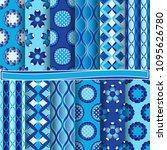 set of abstract vector paper...   Shutterstock .eps vector #1095626780