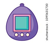 tamagotchi toy icon | Shutterstock .eps vector #1095631730
