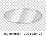 vector realistic isolated oval... | Shutterstock .eps vector #1095635408