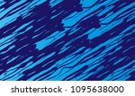 blue streaks background | Shutterstock . vector #1095638000
