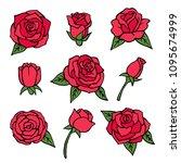 vector pictures set of various...   Shutterstock .eps vector #1095674999