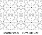 ornamental design. modern... | Shutterstock .eps vector #1095681029