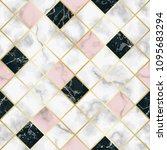 marble luxury geometric...   Shutterstock .eps vector #1095683294