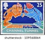 united kingdom   circa 1994  a... | Shutterstock . vector #109568864