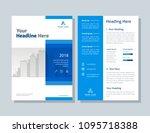 annual report  broshure  flyer  ... | Shutterstock .eps vector #1095718388