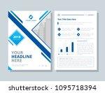 annual report  broshure  flyer  ... | Shutterstock .eps vector #1095718394