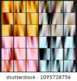 shiny foil paper. holographic... | Shutterstock .eps vector #1095728756