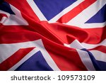 Flag Of Uk  British Flag  Clos...