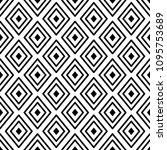 blue line rhombus shapes...   Shutterstock .eps vector #1095753689