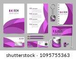 professional universal branding ... | Shutterstock .eps vector #1095755363