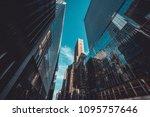 corporative building in new...   Shutterstock . vector #1095757646