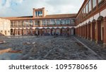 ibarra  imbabura   ecuador  ... | Shutterstock . vector #1095780656