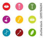 personal hygiene icons set.... | Shutterstock .eps vector #1095784694