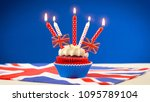red white and blue theme... | Shutterstock . vector #1095789104