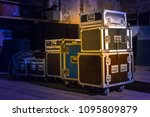 concert equipment. containers... | Shutterstock . vector #1095809879
