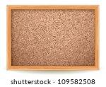 cork board on white | Shutterstock .eps vector #109582508