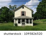exterior of an abandoned and...   Shutterstock . vector #1095826520