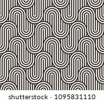 seamless pattern with geometric ... | Shutterstock .eps vector #1095831110